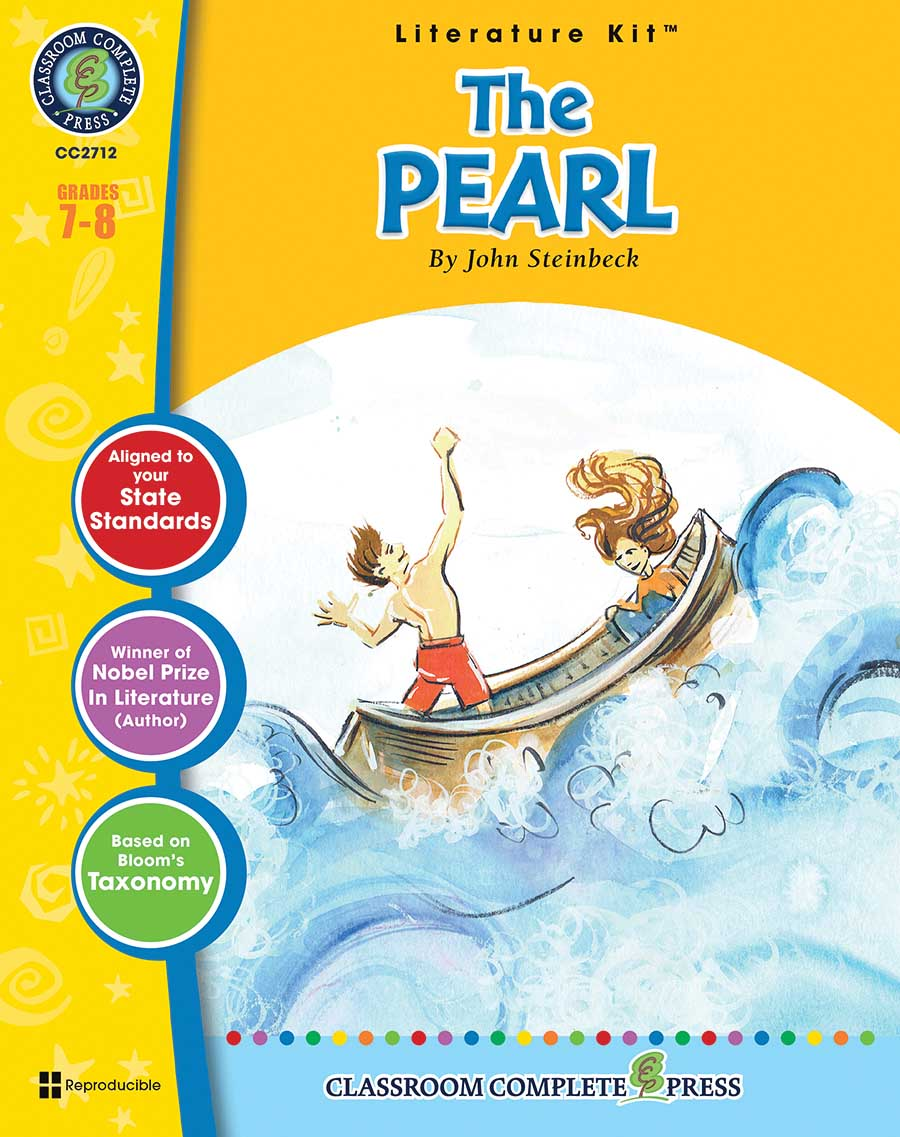 The Pearl - Literature Kit Gr. 7-8 - print book