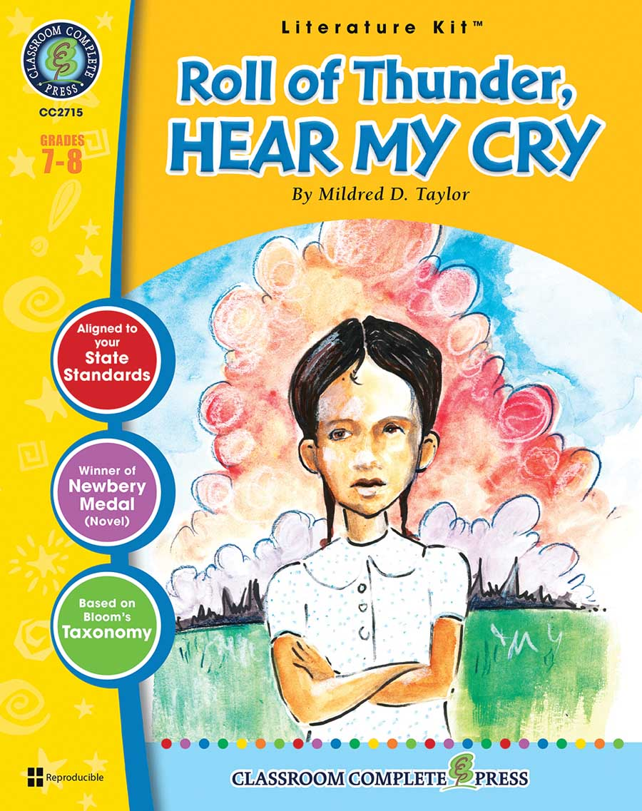 Roll of Thunder, Hear My Cry - Literature Kit Gr. 7-8 - print book