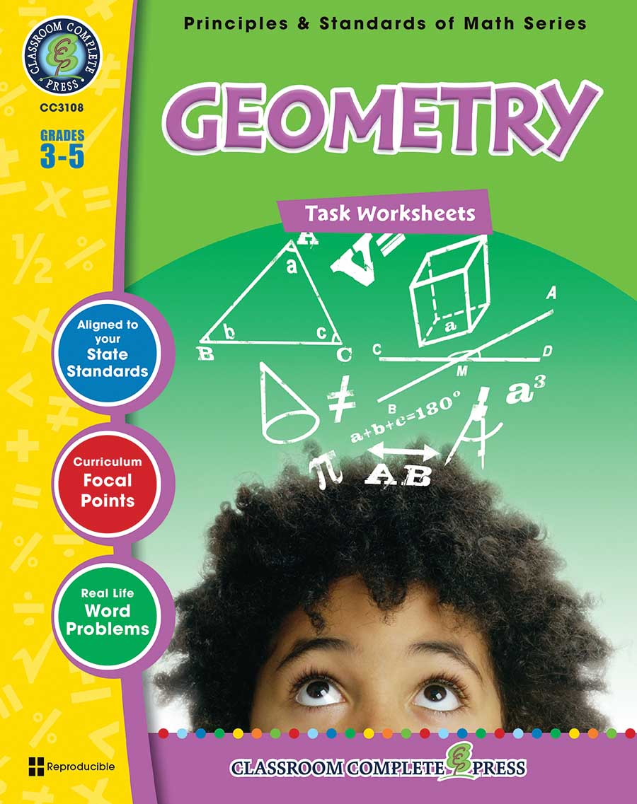 Geometry - Task Sheets Gr. 3-5 - print book
