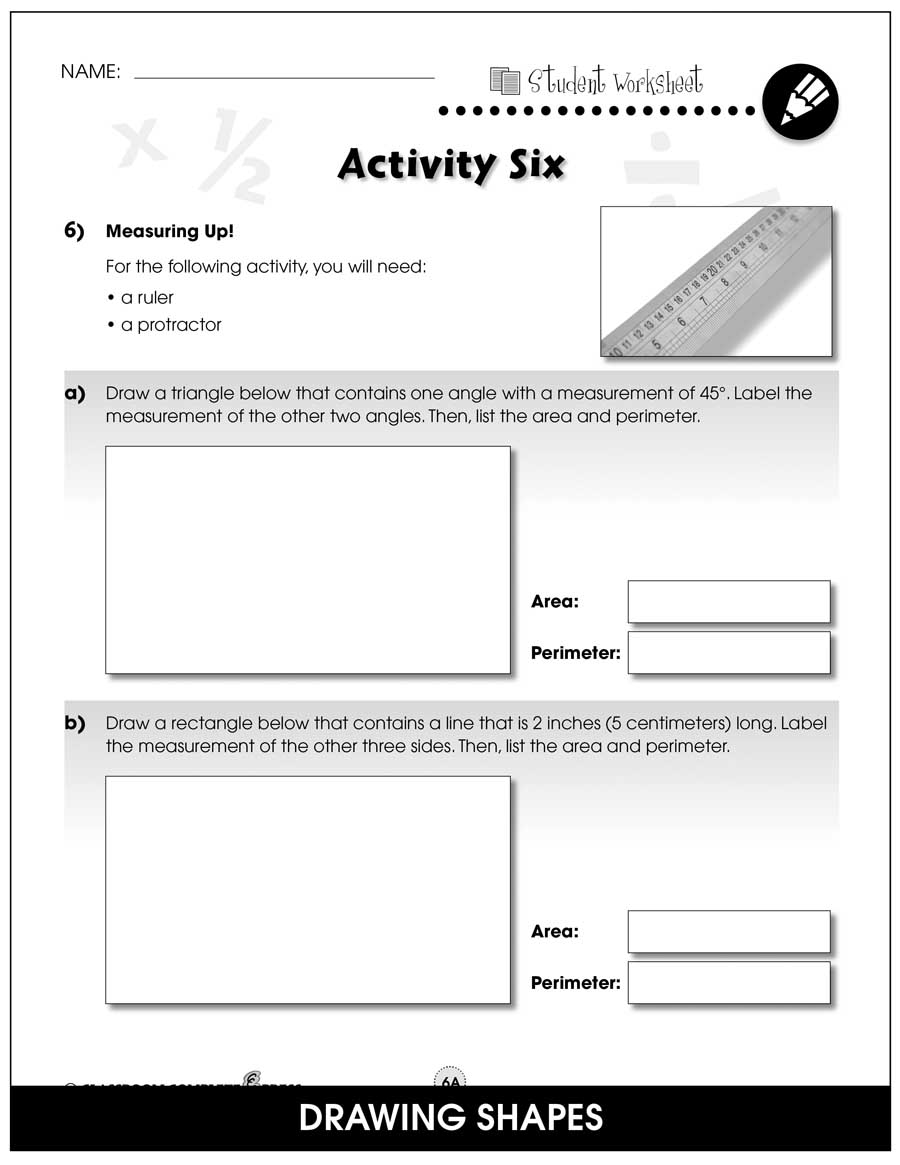 Measurement - Task Sheets Gr. 3-5 - BONUS WORKSHEETS - eBook