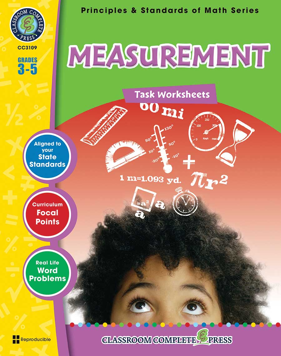 Measurement - Task Sheets Gr. 3-5 - print book