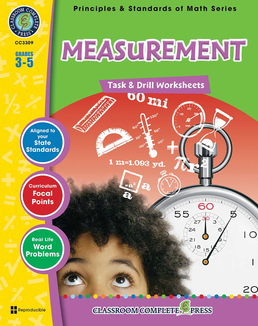 Measurement - Task & Drill Sheets Gr. 3-5 - print book