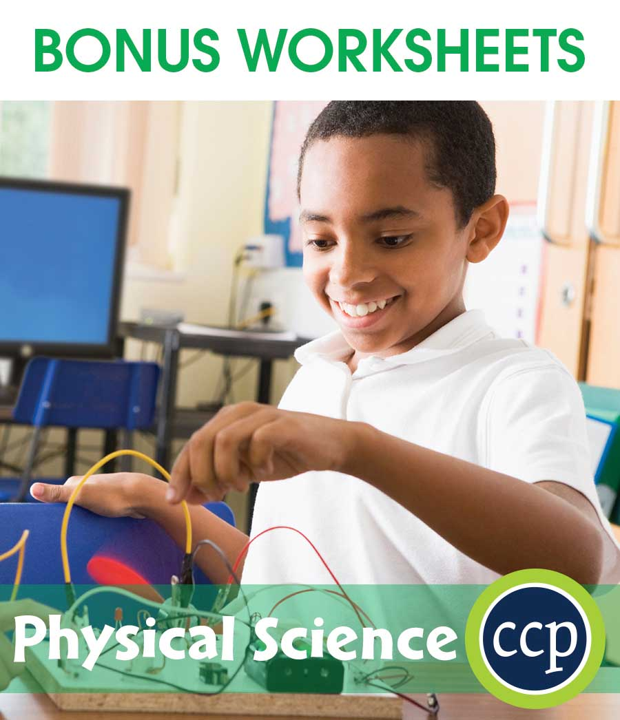 Hands-On STEAM - Physical Science Gr. 1-5 - BONUS WORKSHEETS - eBook