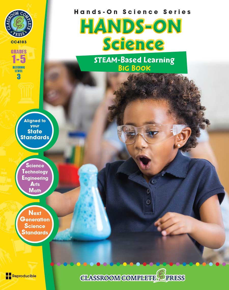 Hands-On STEAM Science Big Book Gr. 1-5 - print book