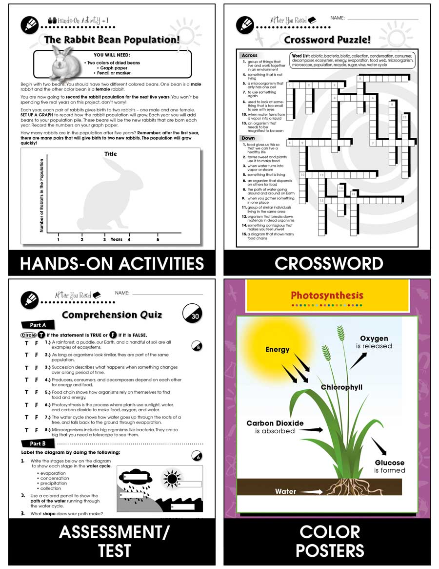 Ecosystems Gr. 5-8 - print book