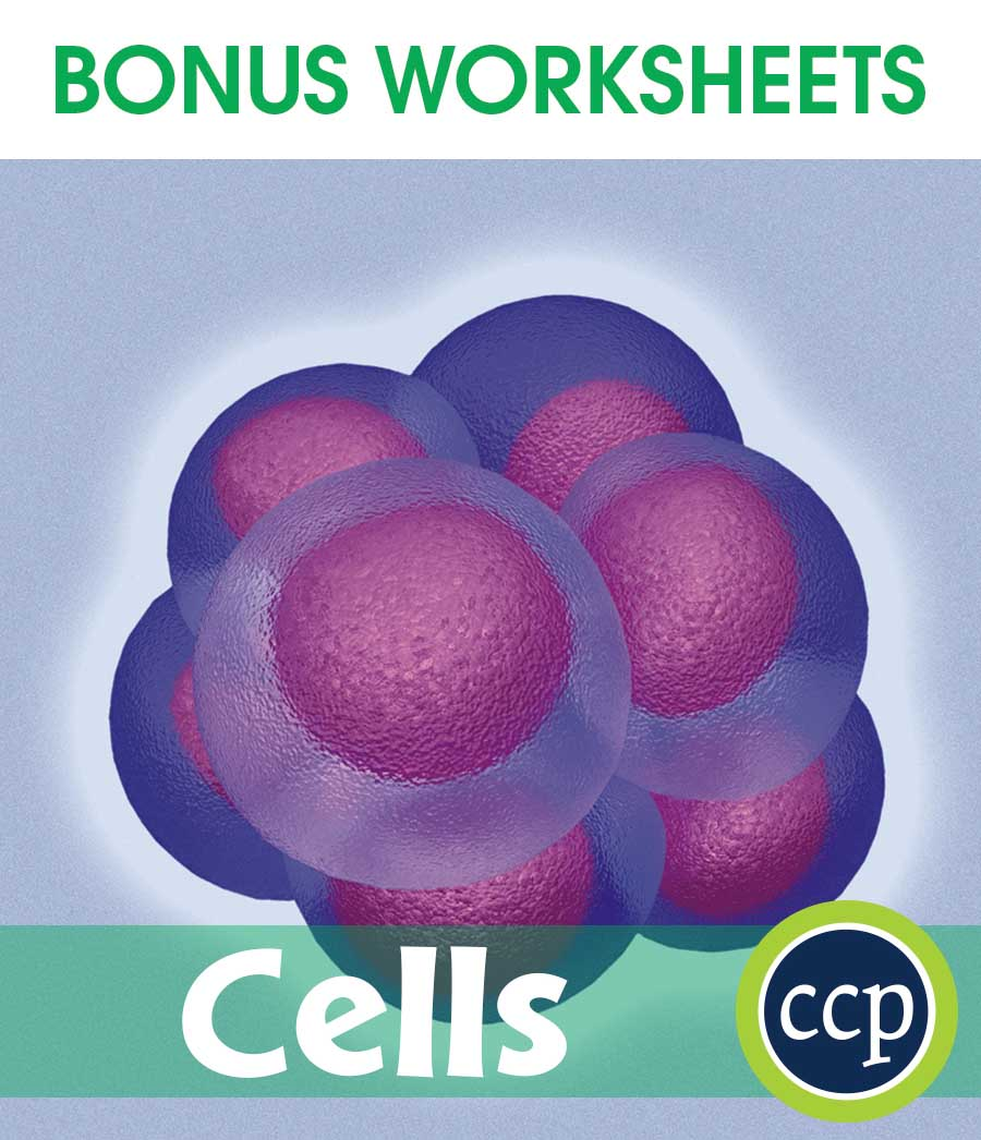 Cells Gr. 5-8 - BONUS WORKSHEETS - eBook