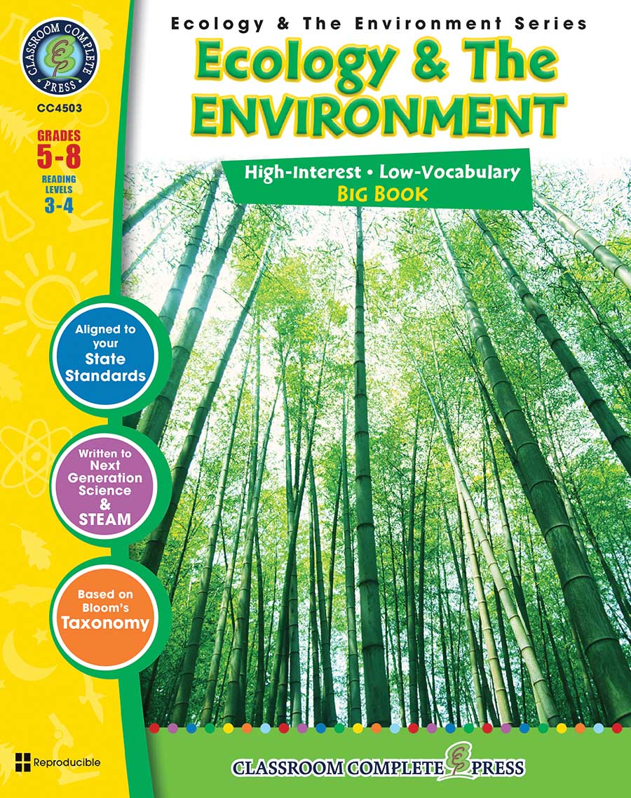 Ecology & The Environment Big Book Gr. 5-8 - print book
