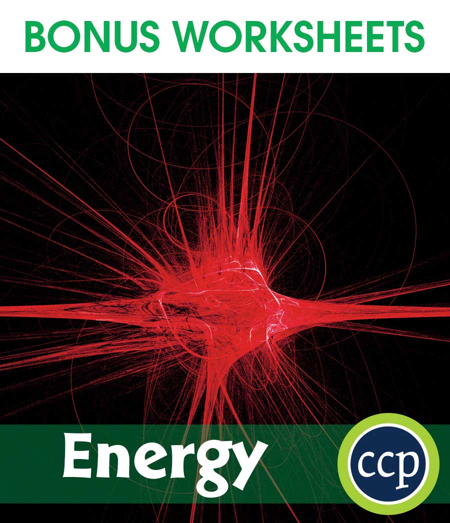 Energy Gr. 5-8 - BONUS WORKSHEETS - eBook