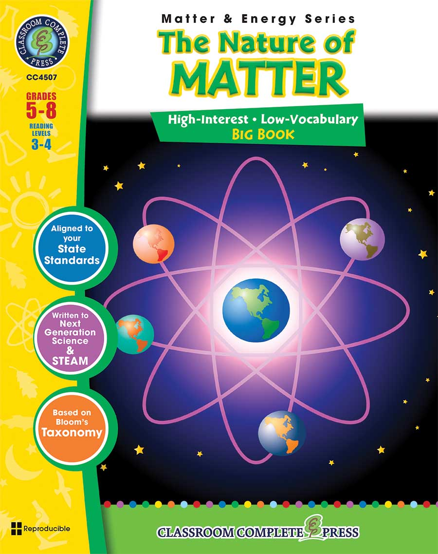 The Nature of Matter Big Book Gr. 5-8 - print book