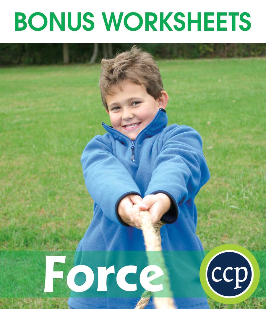 Force Gr. 5-8 - BONUS WORKSHEETS - eBook