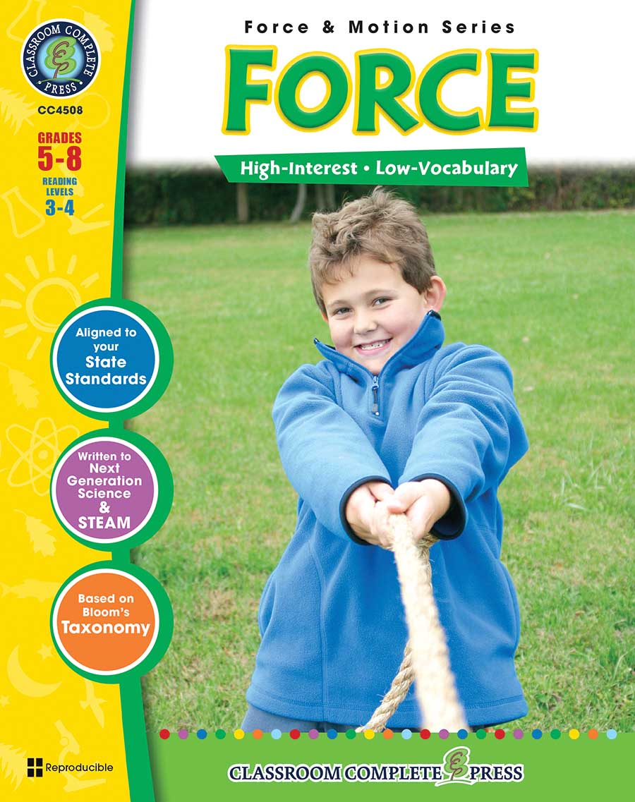 Force Gr. 5-8 - print book