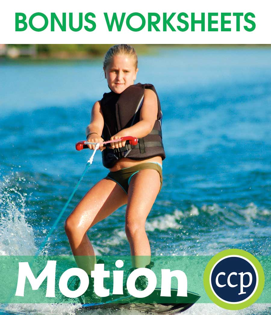 Motion Gr. 5-8 - BONUS WORKSHEETS - eBook