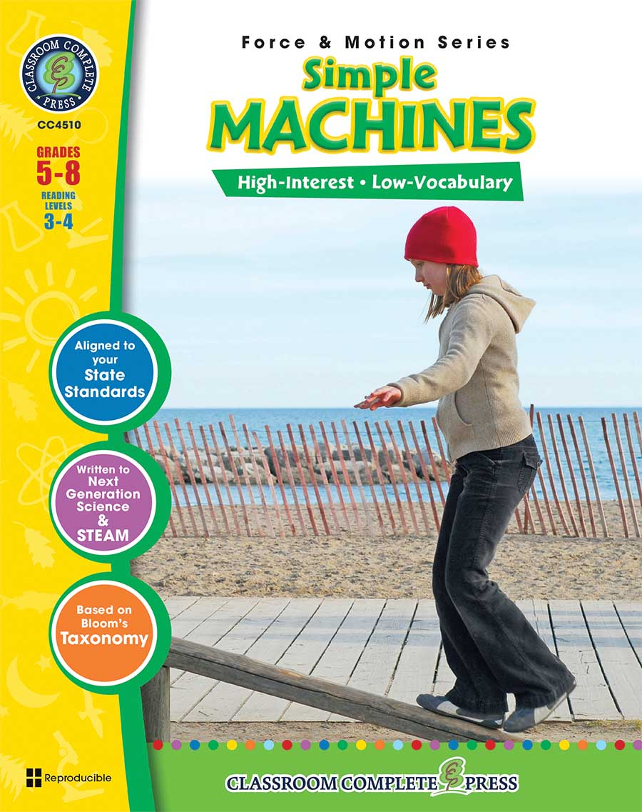 Simple Machines Gr. 5-8 - print book
