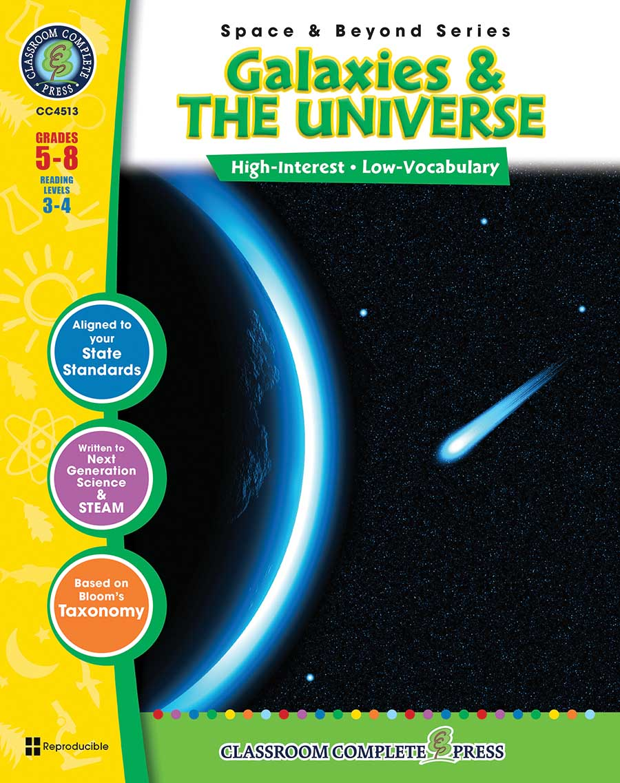 Galaxies & The Universe Gr. 5-8 - print book