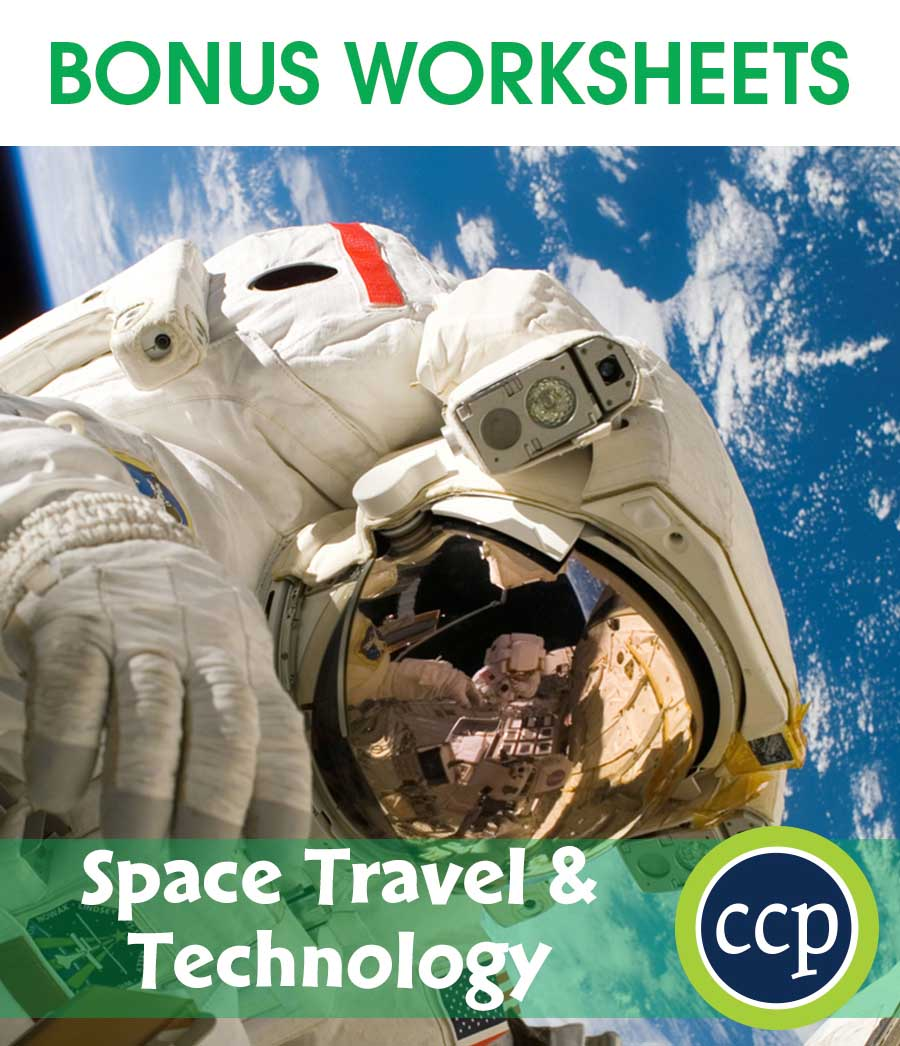 Space Travel & Technology Gr. 5-8 - BONUS WORKSHEETS - eBook
