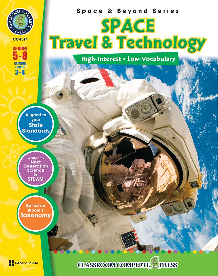 Space Travel & Technology Gr. 5-8 - print book