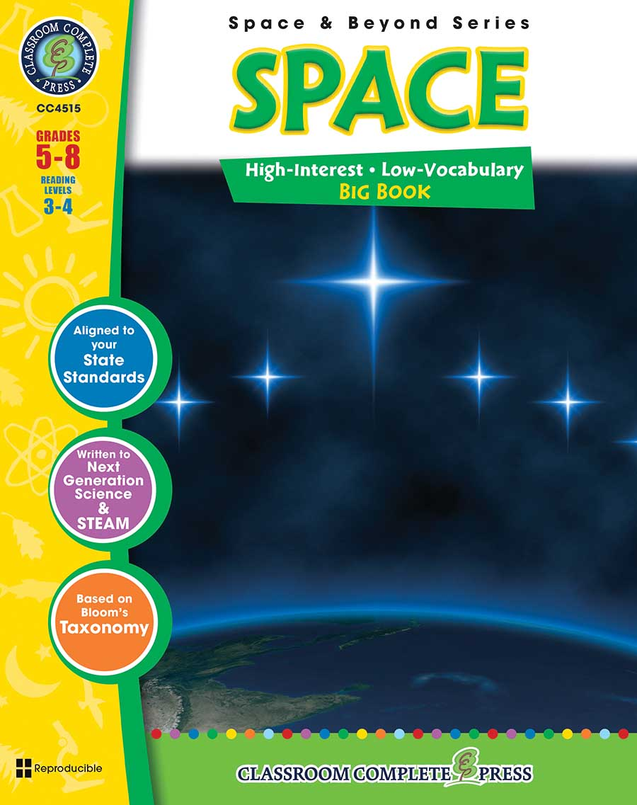 Space Big Book Gr. 5-8 - print book