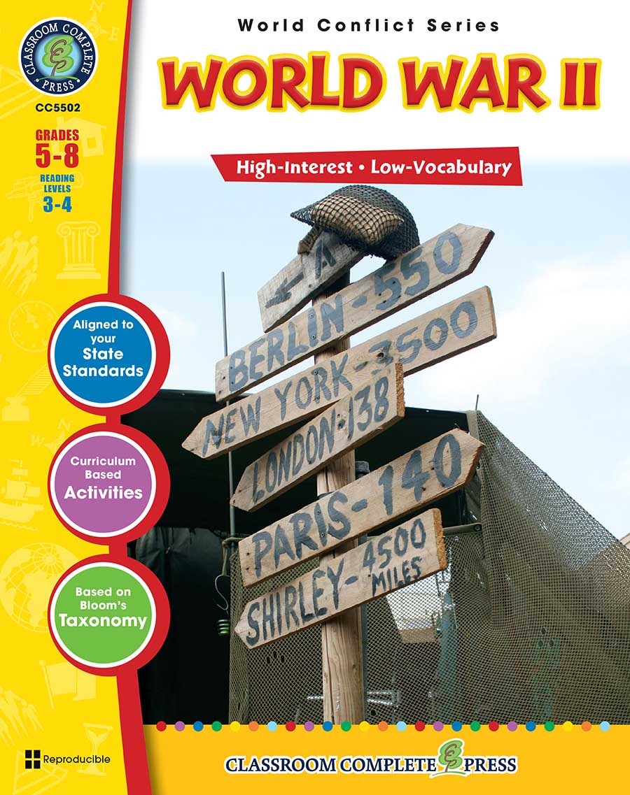 World War 2 Gr. 5-8 - print book