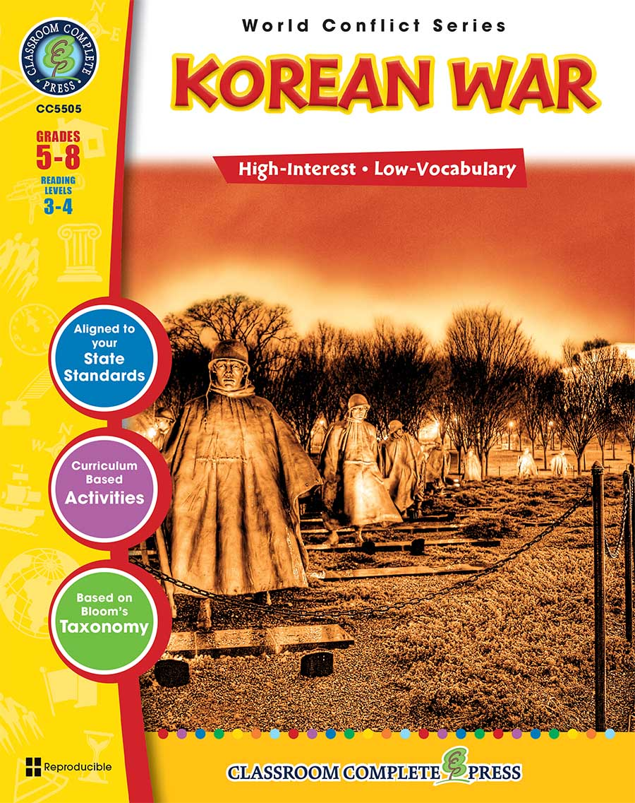 Korean War Gr. 5-8 - print book
