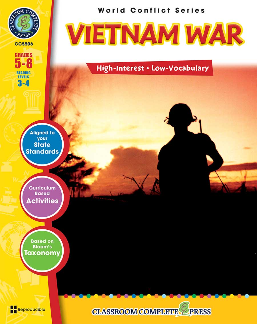 Vietnam War Gr. 5-8 - print book