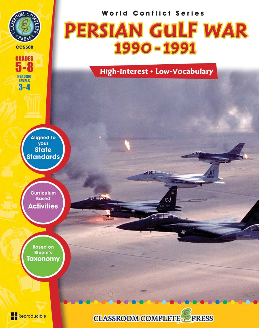 Persian Gulf War (1990-1991) Gr. 5-8 - print book