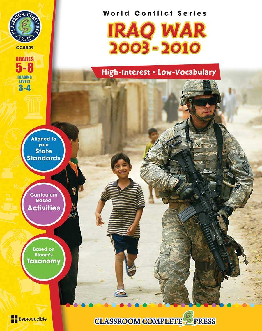 Iraq War (2003-2010) Gr. 5-8 - print book