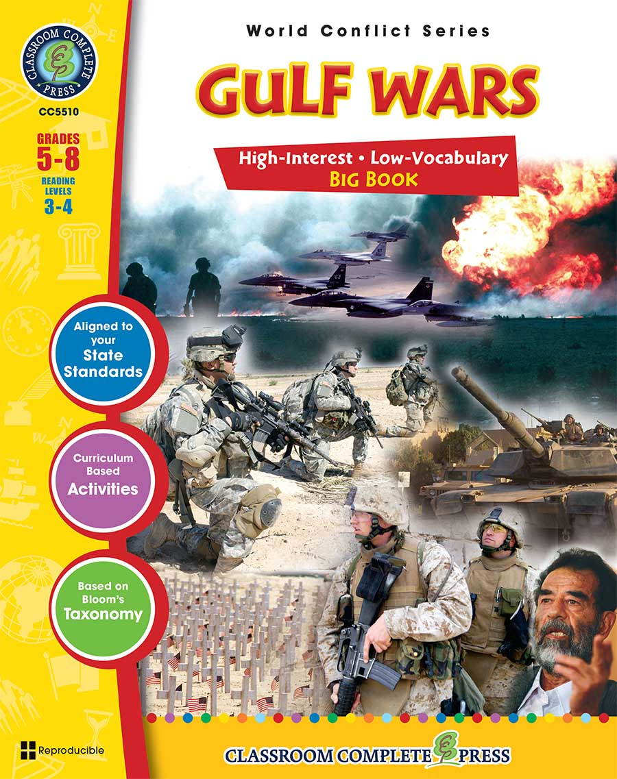 Gulf Wars Big Book Gr. 5-8 - print book