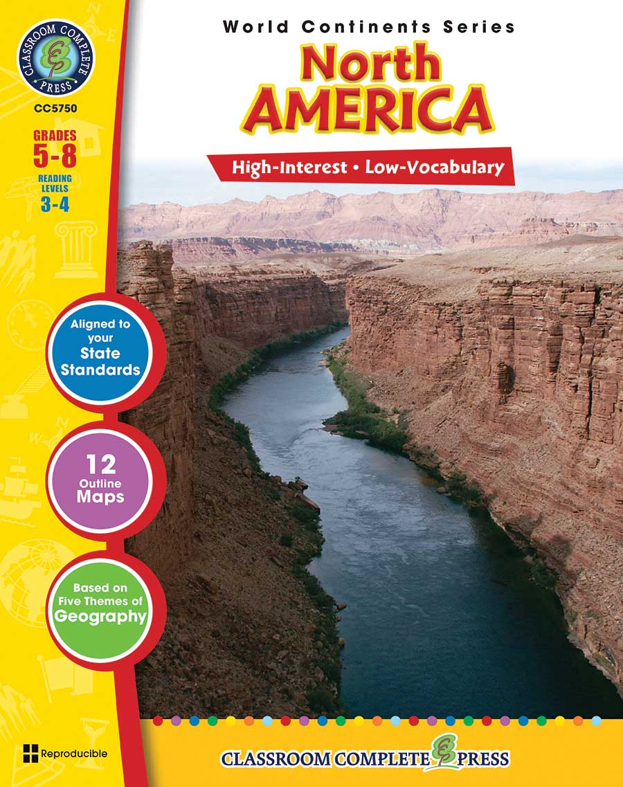 North America Gr. 5-8 - print book