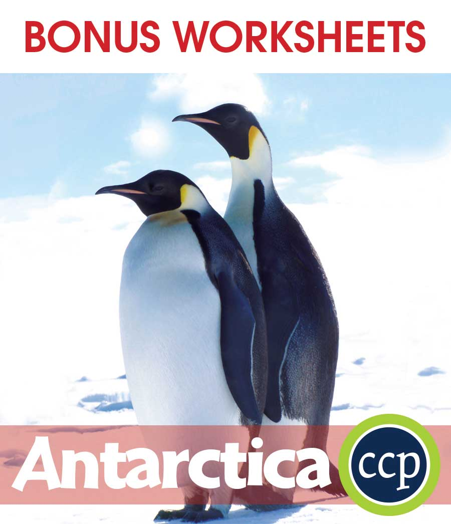 Antarctica Gr. 5-8 - BONUS WORKSHEETS - eBook