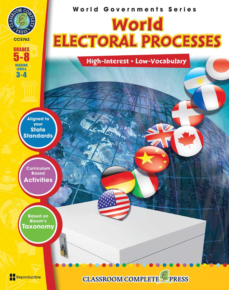 World Electoral Processes Gr. 5-8 - print book