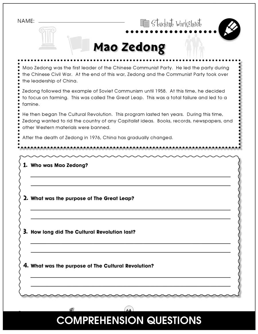 Capitalism vs. Communism Gr. 5-8 - BONUS WORKSHEETS - eBook
