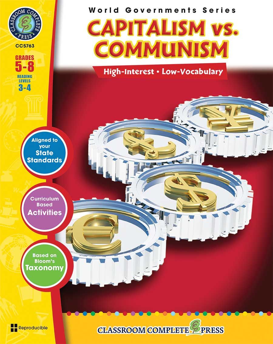 Capitalism vs. Communism Gr. 5-8 - print book