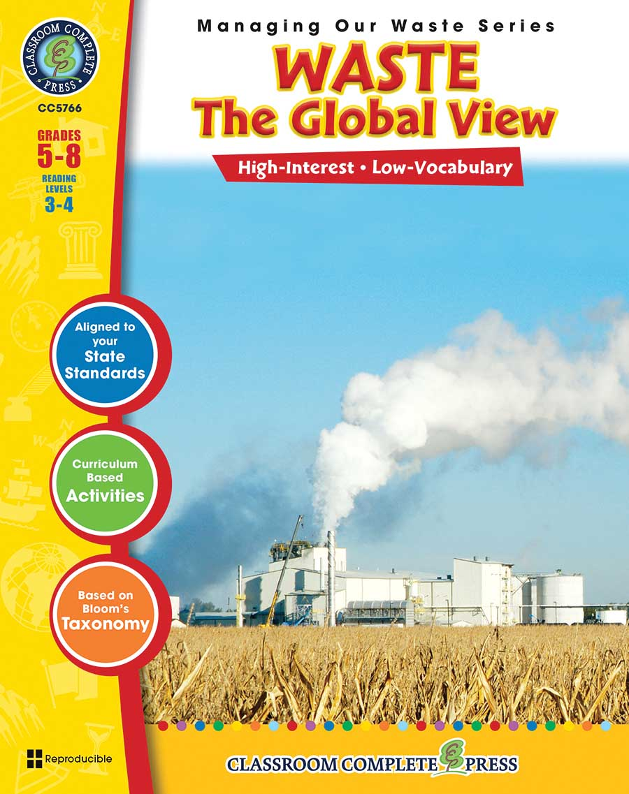 Waste: The Global View Gr. 5-8 - print book