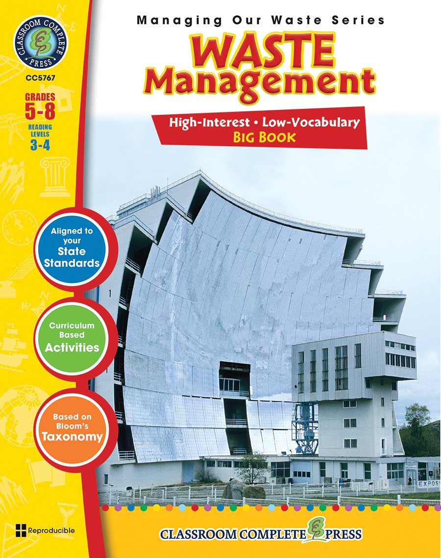 Waste Management Big Book Gr. 5-8 - print book