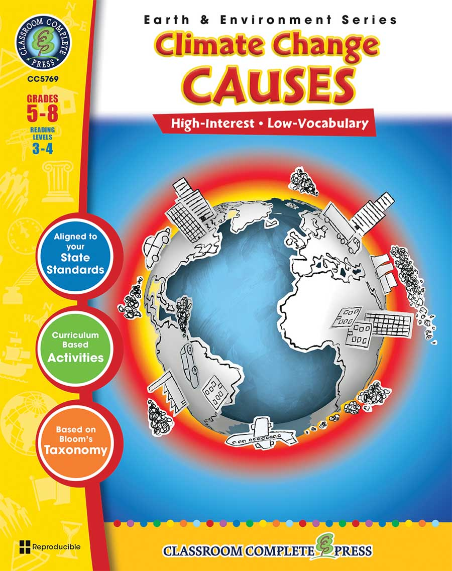 Global Warming: Causes Gr. 5-8 - print book