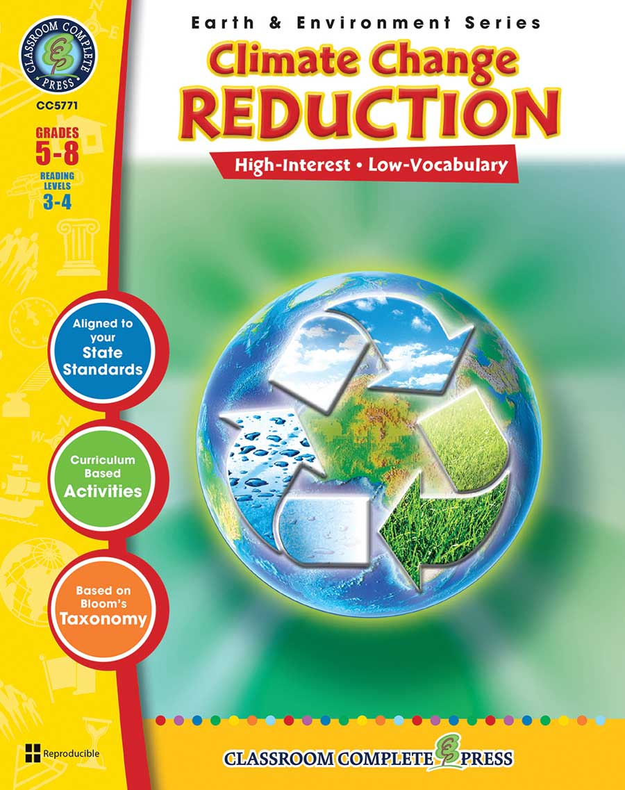 Climate Change: Reduction Gr. 5-8 - print book