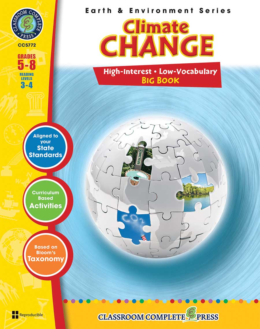 Climate Change Big Book Gr. 5-8 - print book