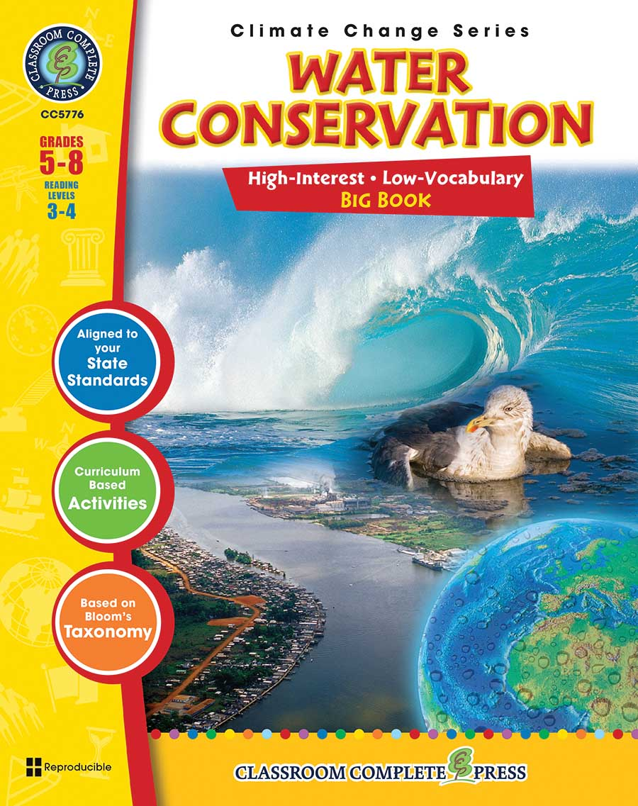 Water Conservation Big Book Gr. 5-8 - print book
