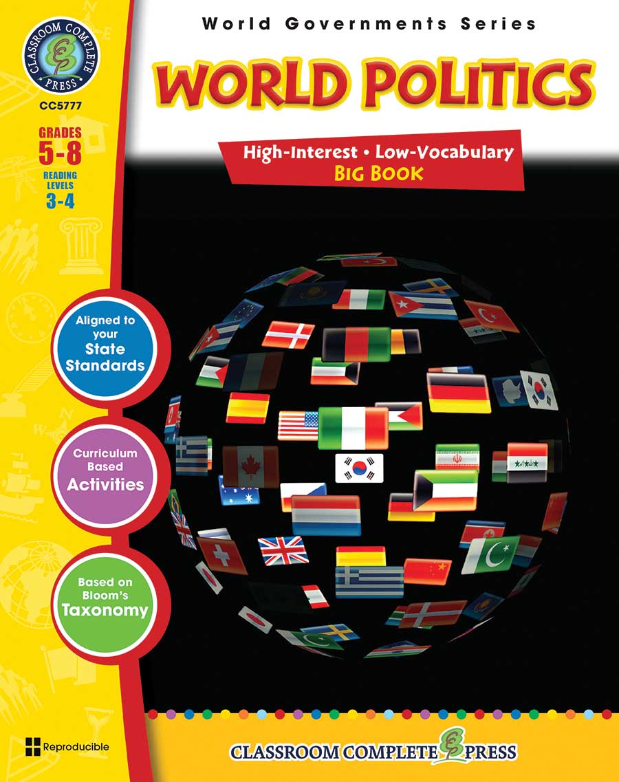 World Politics Big Book Gr. 5-8 - print book