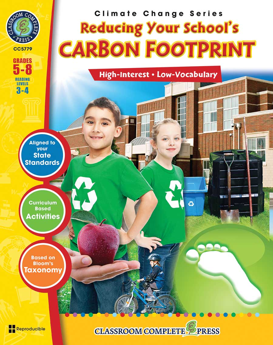 Reducing Your School's Carbon Footprint Gr. 5-8 - print book