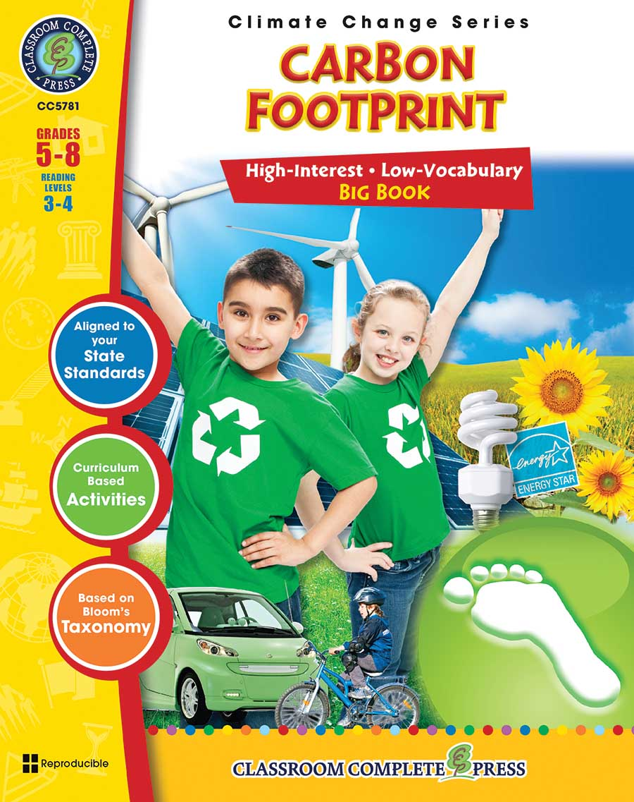 Carbon Footprint Big Book Gr. 5-8 - print book