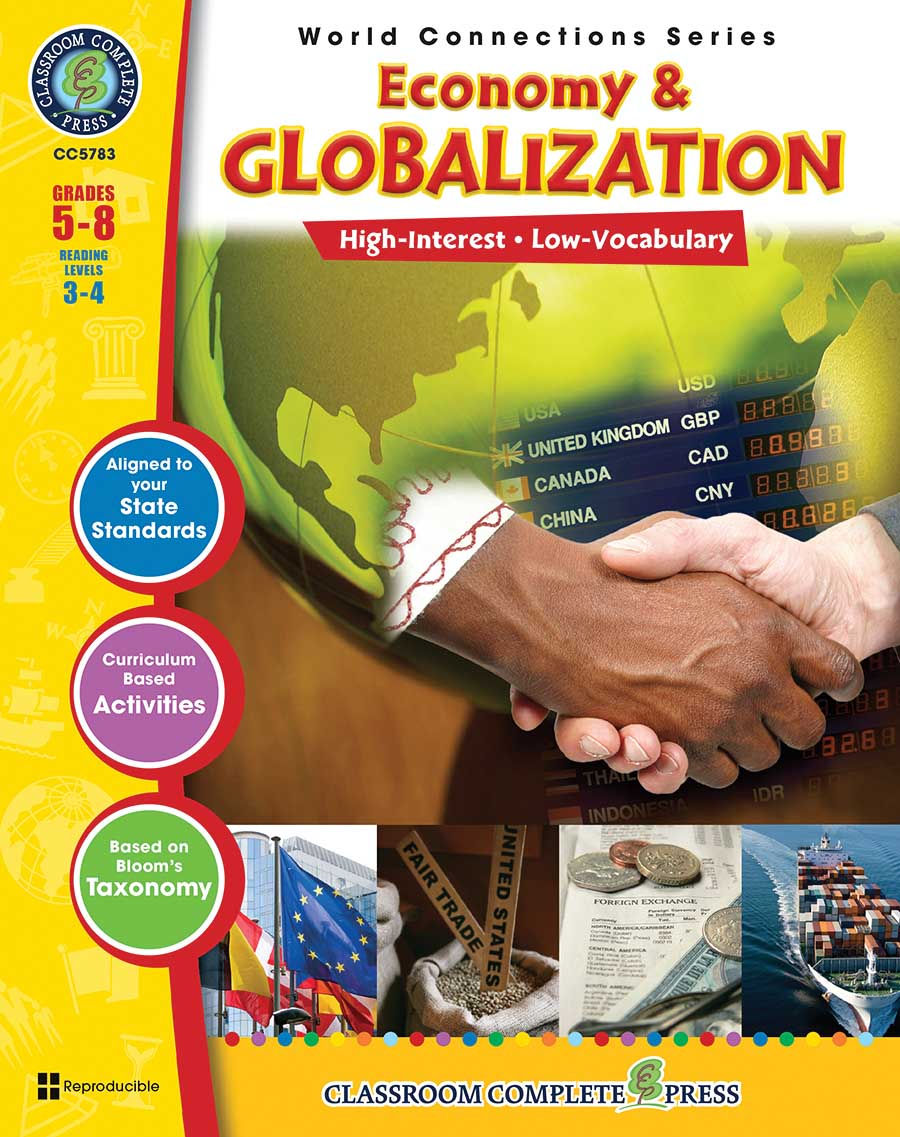 Economy & Globalization Gr. 5-8 - print book
