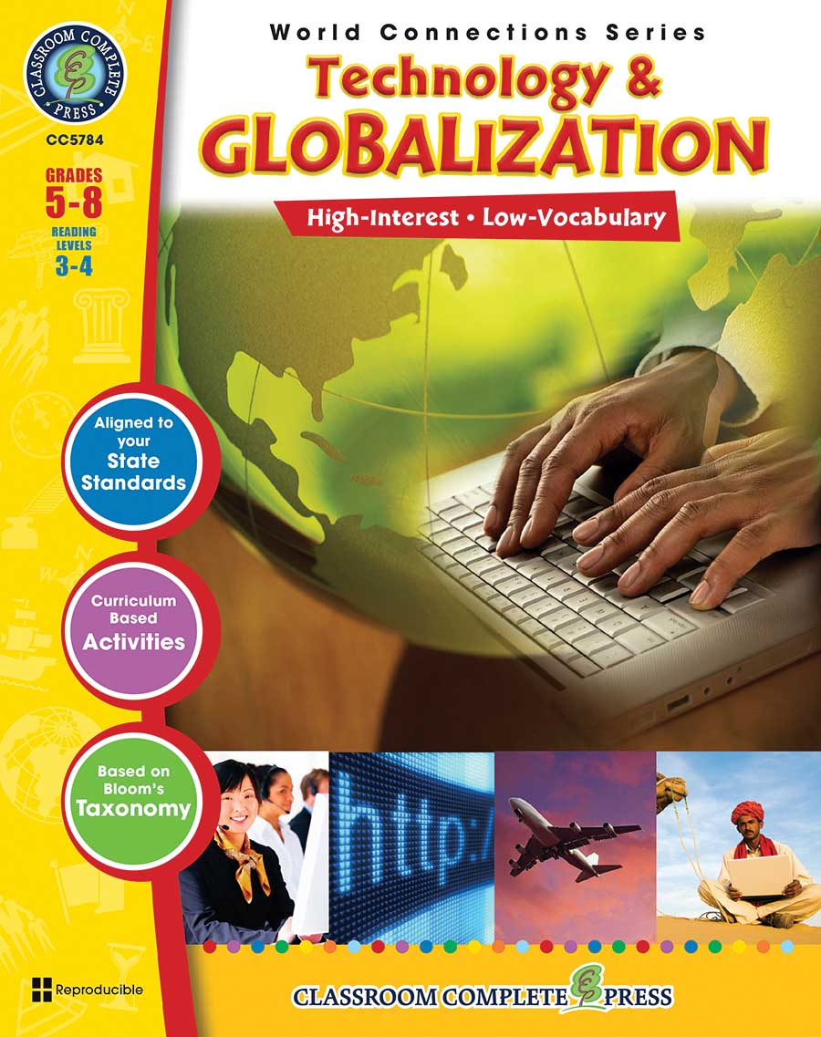 Technology & Globalization Gr. 5-8 - print book