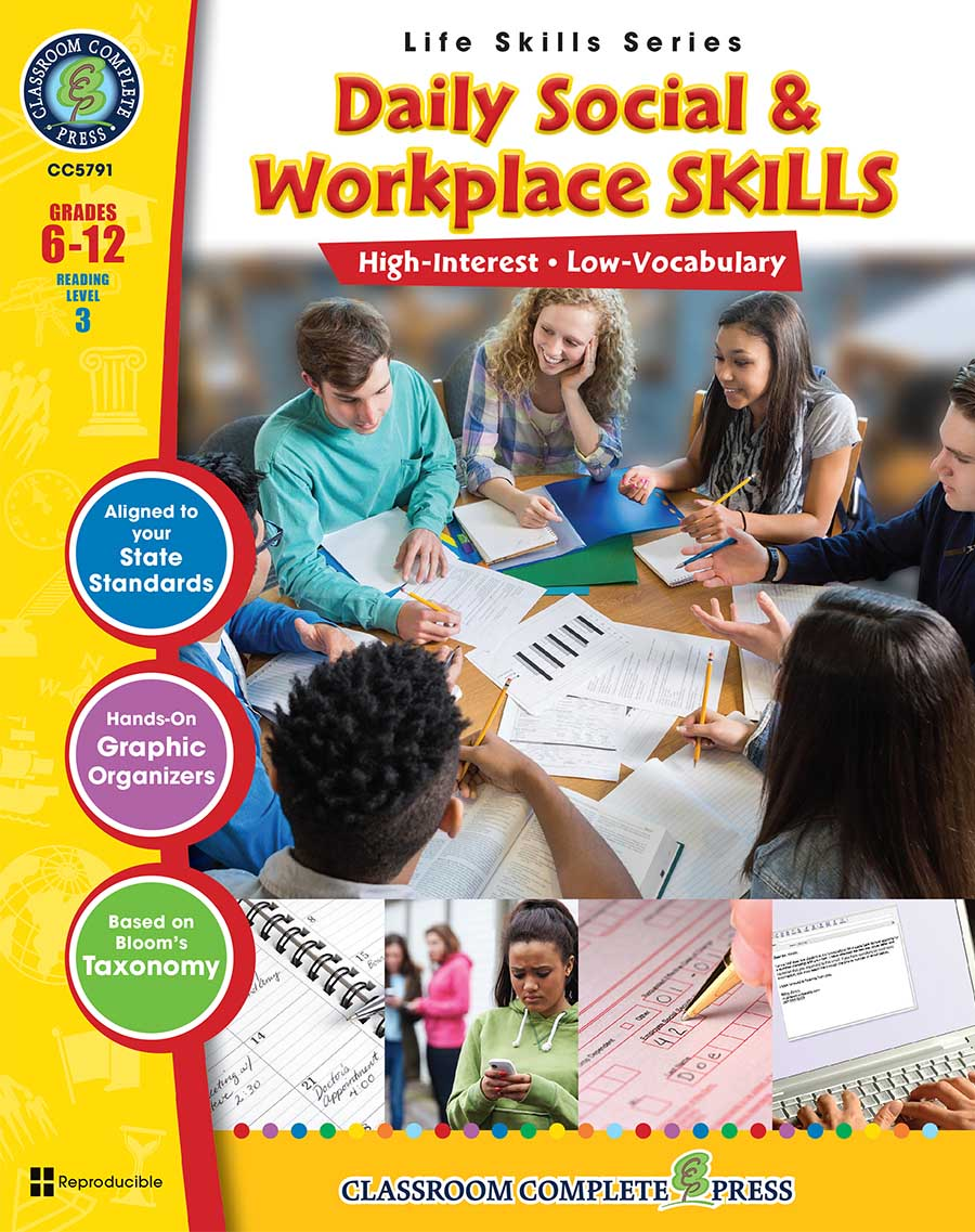Daily Social & Workplace Skills Gr. 6-12 - print book