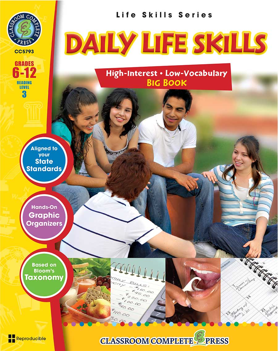 Daily Life Skills Big Book Gr. 6-12 - print book