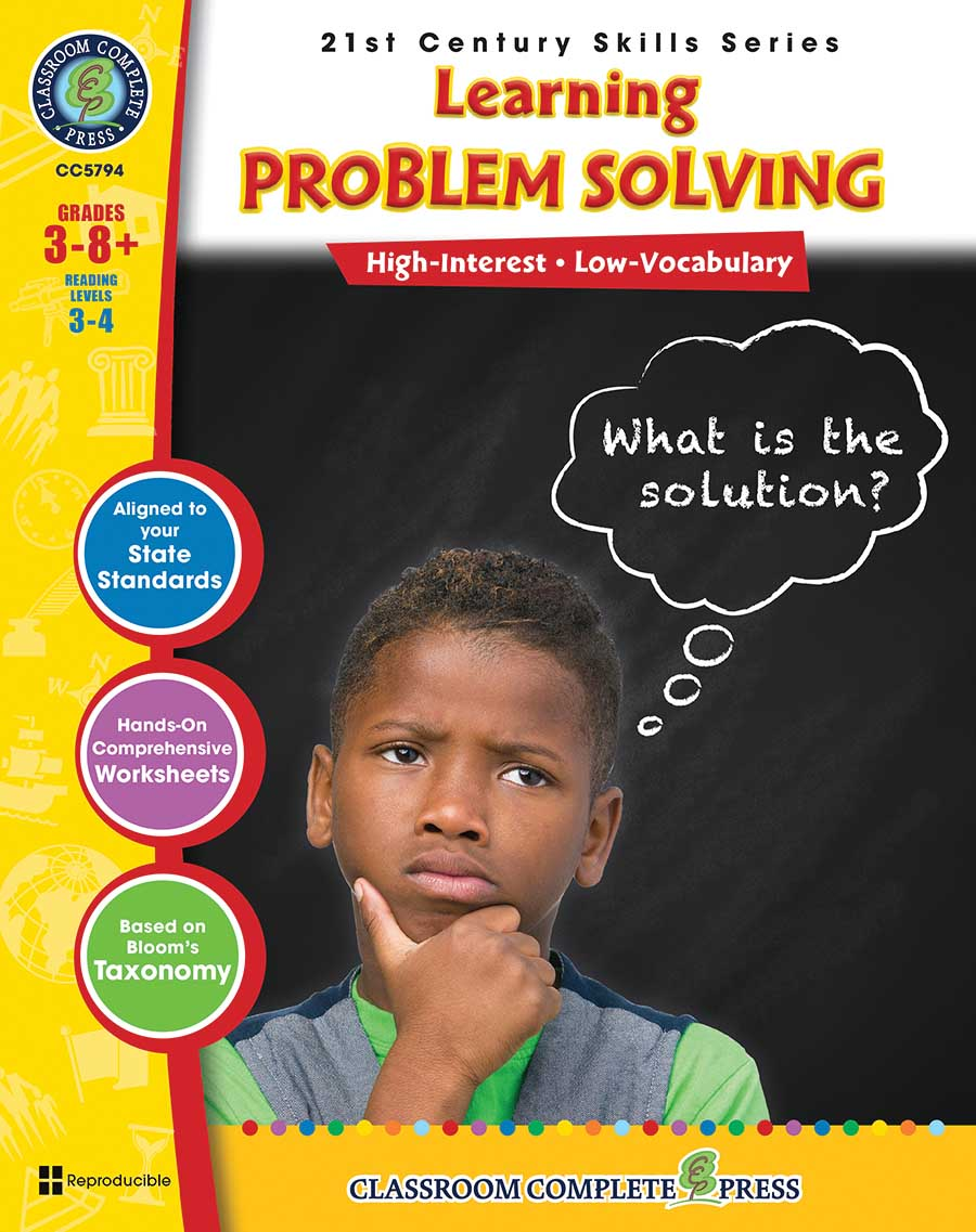 21st Century Skills - Learning Problem Solving Gr. 3-8+ - print book