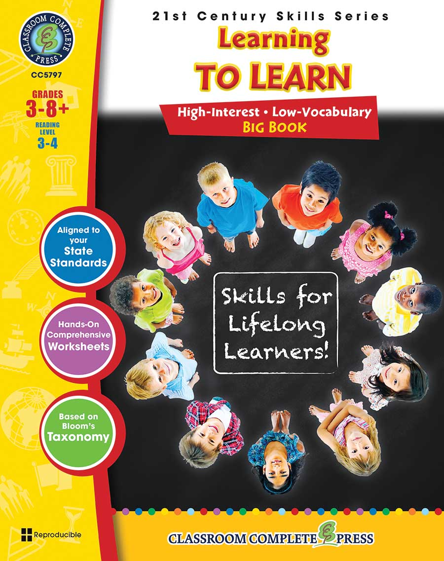 21st Century Skills - Learning to Learn Big Book Gr. 3-8+ - print book