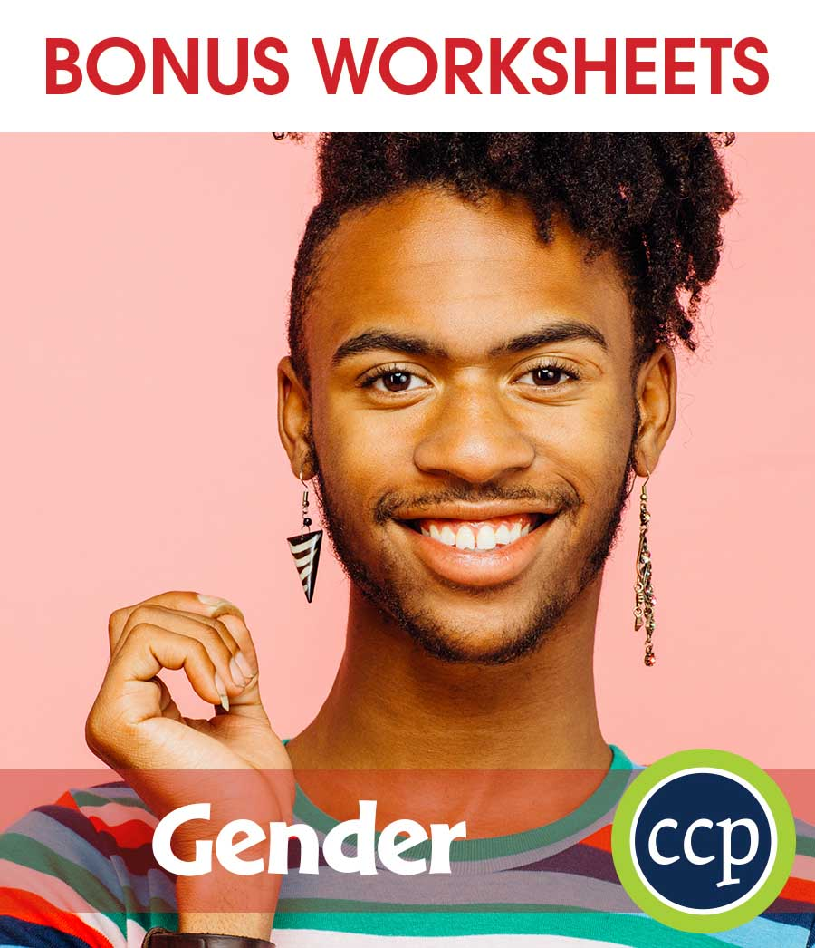 Gender Gr. 6-Adult - BONUS WORKSHEETS - eBook