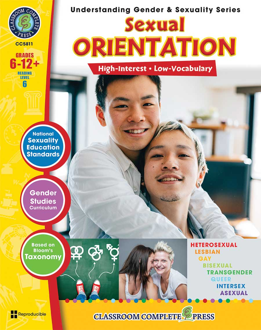 Sexual Orientation Gr. 6-Adult - print book