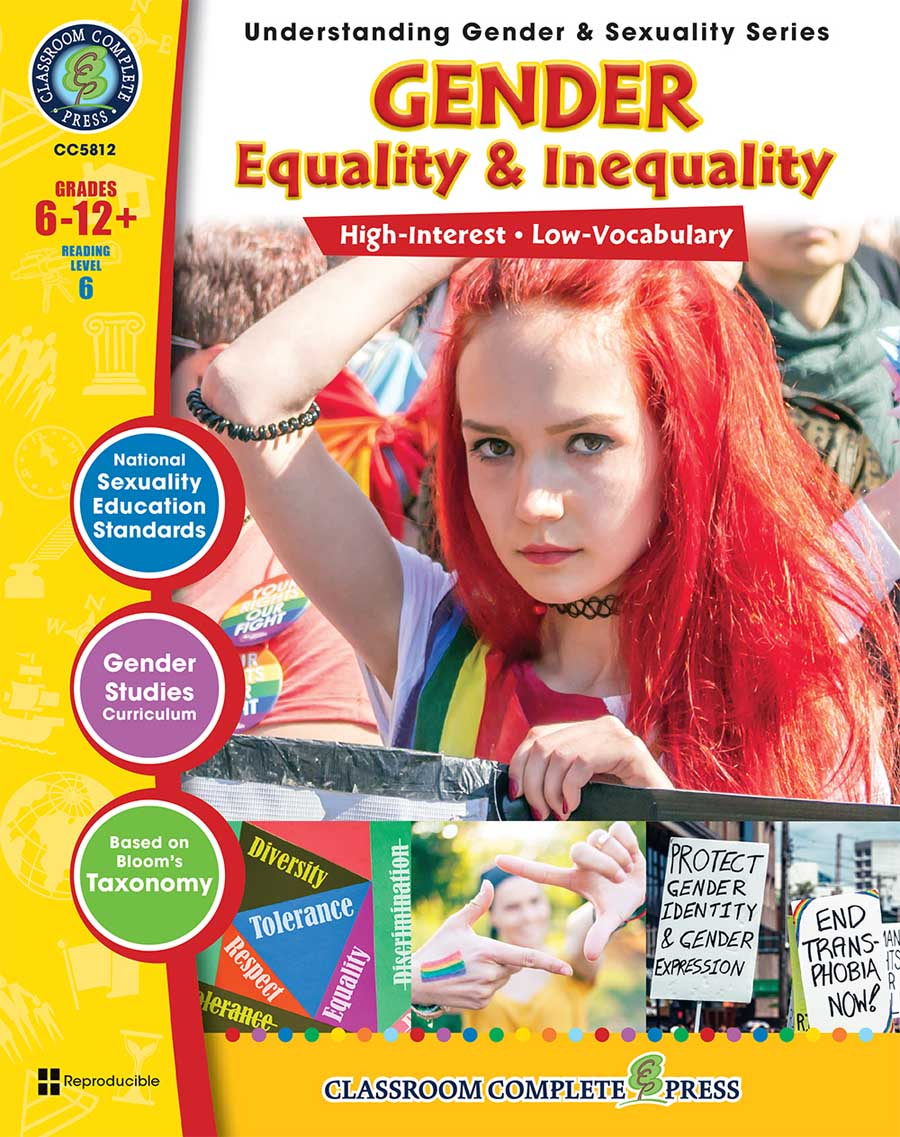 Gender Equality & Inequality Gr. 6-Adult - print book